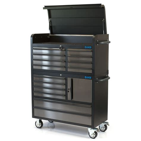 tool chest and cabinet 41 quot professional 14 drawer stainless steel tool chest