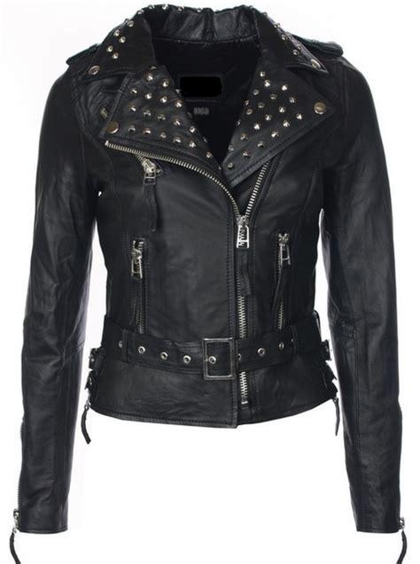 chaqueta de cuero para mujer chaquetas mujer cuero
