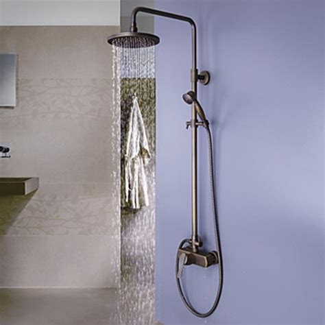 Shower Faucets Traditional Tub And Shower Faucet Sets Bathroom Fixture Sets