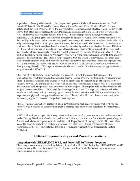 tetfund special intervention grant template sle grant of low income wind power project