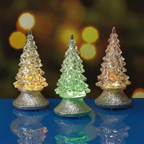 small led christmas tree mini led tree tealights current catalog
