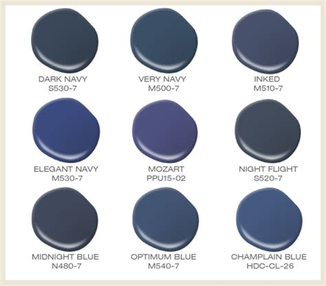 behr paint color blue colorfully behr color of the month inky blue
