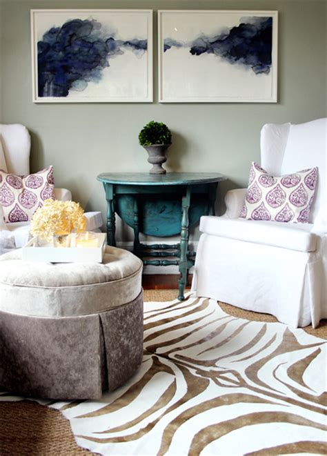 print your own rug home dzine craft ideas how to stencil and paint a zebra rug