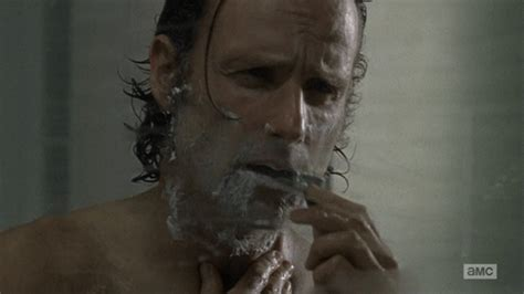 rick grimes haircut how to do rick grimes hairstyle all who shower with this walking dead shower curtain will