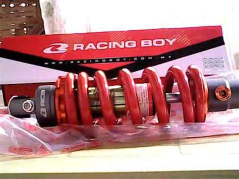 Shock Rcb 335mm Sb2 racing boy mono shock for 150
