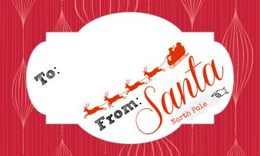 printable gift label from santa official letterhead and gifts tags from santa claus free