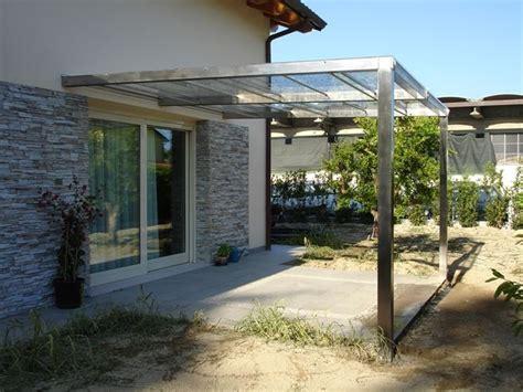 tettoie per cancelli esterni tettoia in plexiglass arredamento giardino