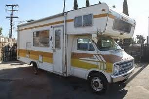 1976 dodge sportsman motorhome submited images