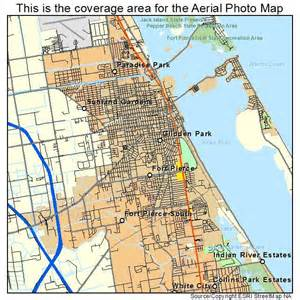 aerial photography map of fort fl florida