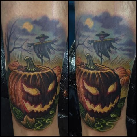 jack o lantern tattoo 30 awesome tattoos best ideas gallery