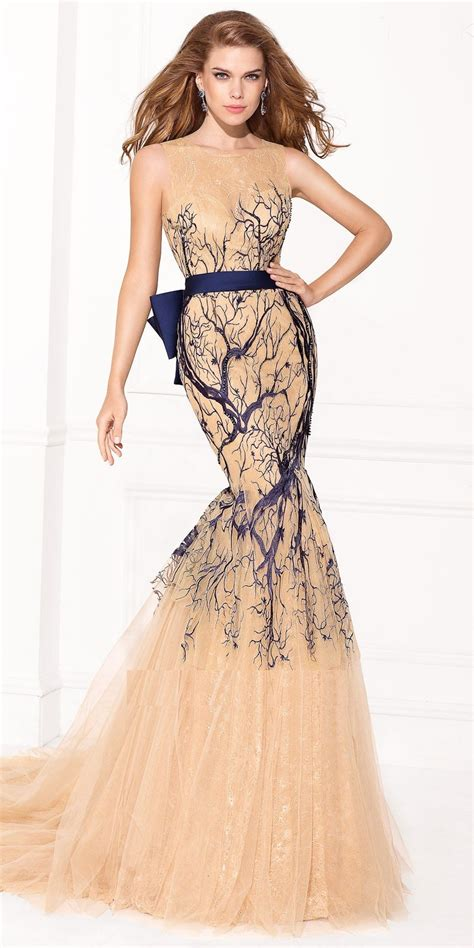 trendy evening gown dresses for