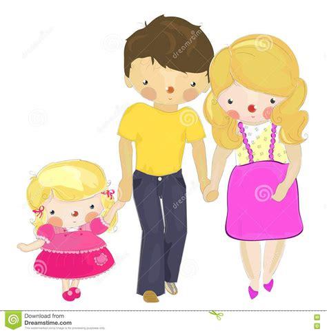 una nueva hija y papa xx un pap 225 y una mama embarazada con una peque 241 a hija foto de