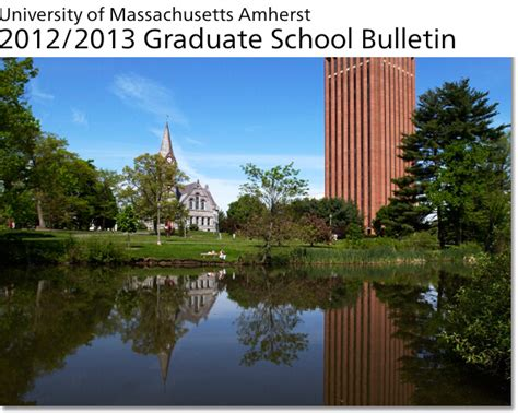 Of Massachusetts At Amherst Mba by Graduate Bulletin Umass Amherst