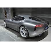 Maserati Alfieri Concept Displayed At Detroit Motor Show 2015