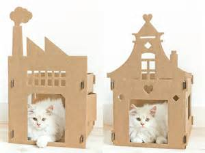 modern cat house modern cat furniture the kek cat house
