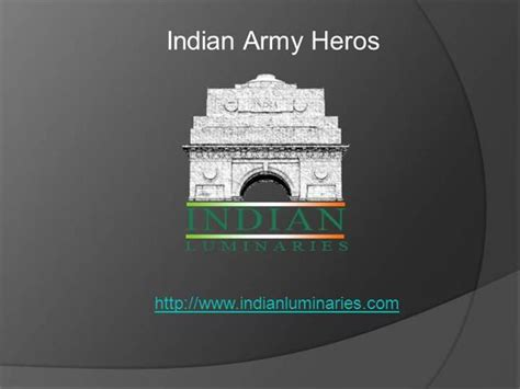 Indian Army Heros Authorstream Indian Army Ppt
