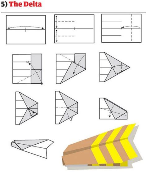 How To Fold Cool Paper Airplanes - paper airplanes tactics