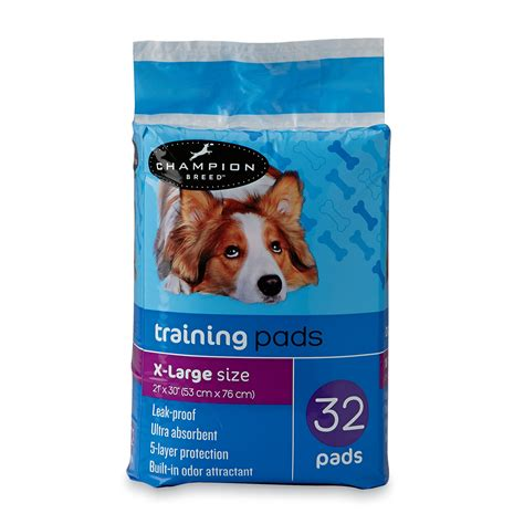 xl puppy pads chion breed puppy pads xl 32ct pet supplies supplies housetraining