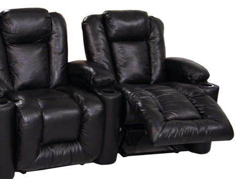 Home Theater Agustus klaussner augustus home theater seats 4seating