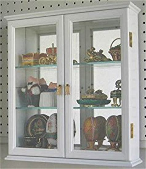 Wall Curio Cabinet Glass Doors by Wall Mounted Curio Cabinet Wall Display With Glass