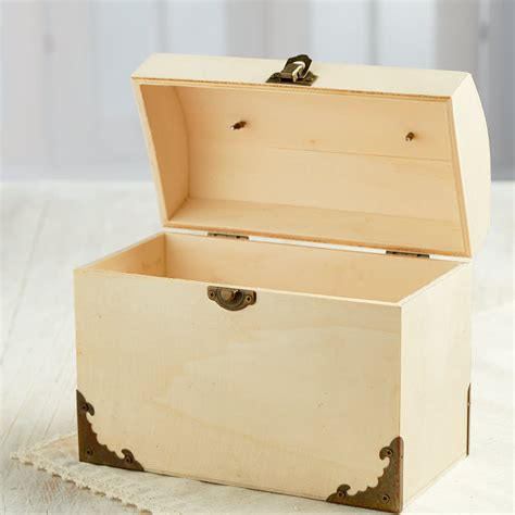 wooden craft kits for unfinished wood trunk box purse wood craft kits
