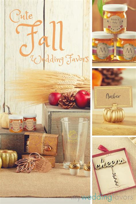 Our Wedding The Favors by Our Fall Wedding Favors Bring The Gorgeous Warmth Of The
