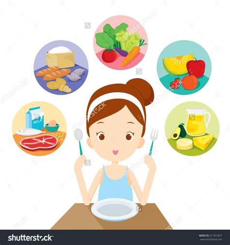 School healthy lunch clipart lunch lady clipart
