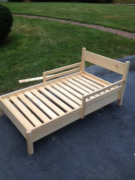 Baby Bed Frame Wood Build A Toddler Bed Plans Pdf Plans