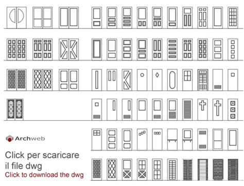 portone sezionale dwg porte in prospetto dwg abaco porte dwg