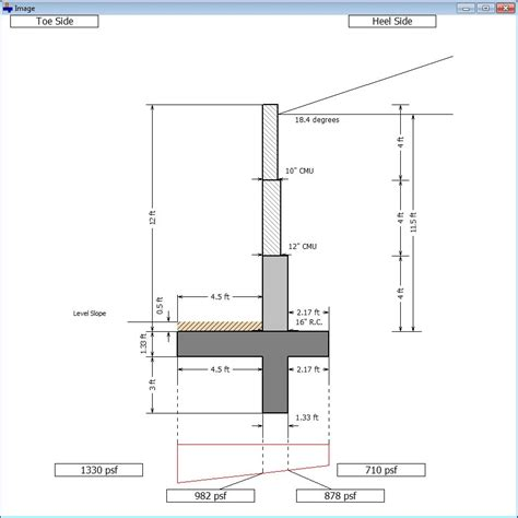Free Floor Plan Download by Cantilever And Restrained Retaining Wall Design Software