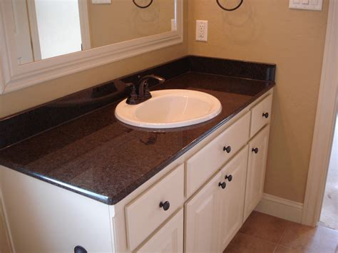 Granite Vanities Bathrooms by Marble Craft Bathrooms