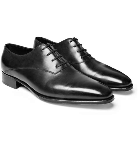 lobb oxford shoes lobb prestige becketts leather oxford shoes in black