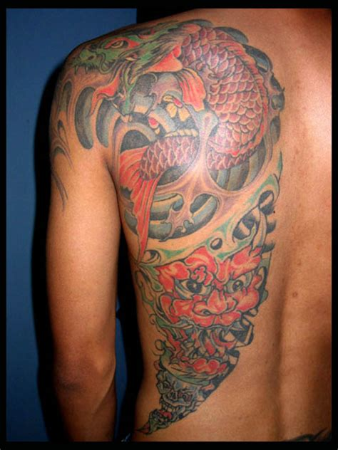 best tattoo artist bali 2015 dragon bali by buchtattoo on deviantart