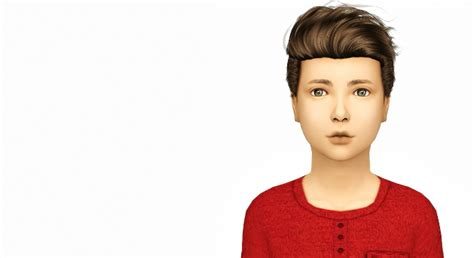 childs hairstyles sims 4 stealthic haunting kids version at simiracle 187 sims 4 updates