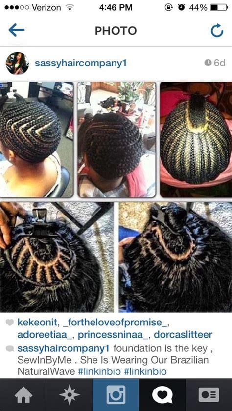 bob braiding patterns sew in braid pattern hair weave slayers 169 pinterest