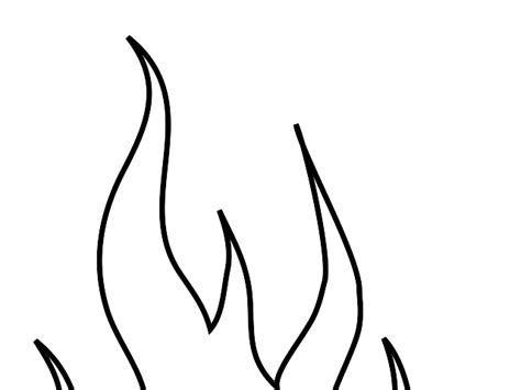 flames template stencils printable cliparts co