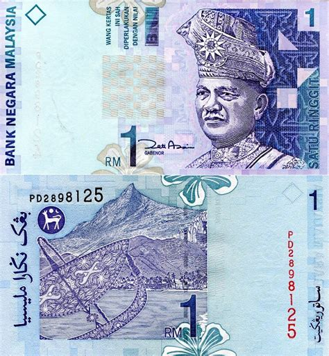 Malaysia 1 Ringgit 1989 Aunc malaysia 1 ringgit banknote world money unc currency bill note p39 2000 rahman ebay
