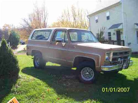 1976 gmc jimmy for sale sell used 1976 gmc jimmy blazer high 4x4 in mount