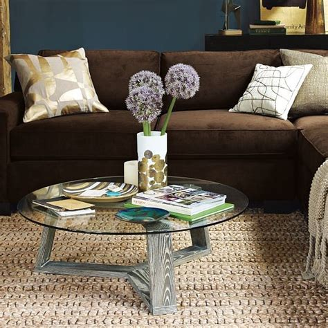 ion glass coffee table modern coffee tables by