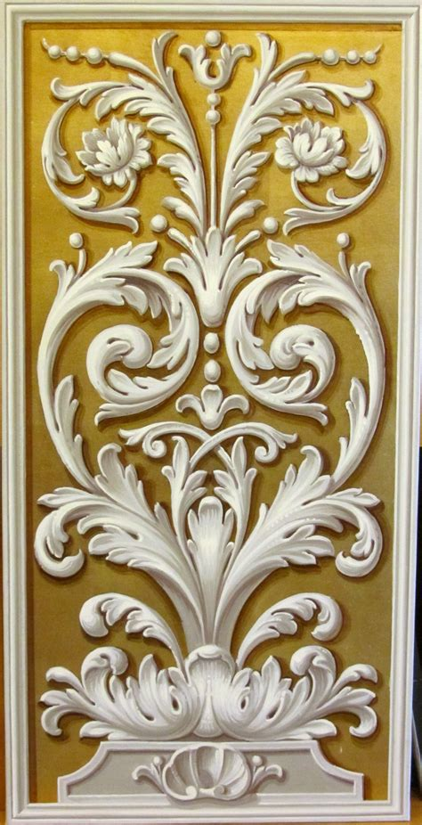 Quilling Lackieren by Ornato On Gold Grotesque Et D 233 Cor Mural Pinterest