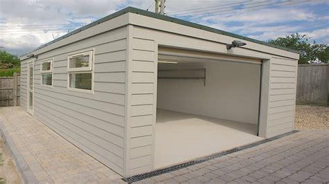 garage roofs prefab garden buildings prefab flat roof garage sloped roof garage interior designs flauminc com