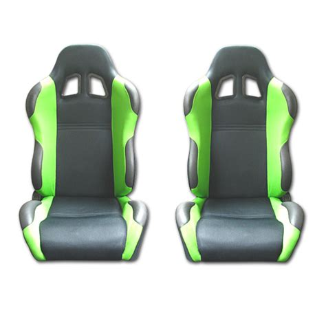 green racing seats mustang green racing seats