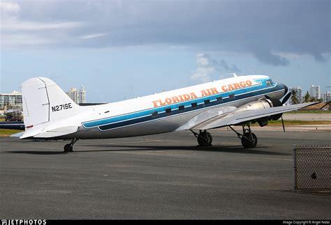 n271se douglas dc 3c florida air cargo natal jetphotos