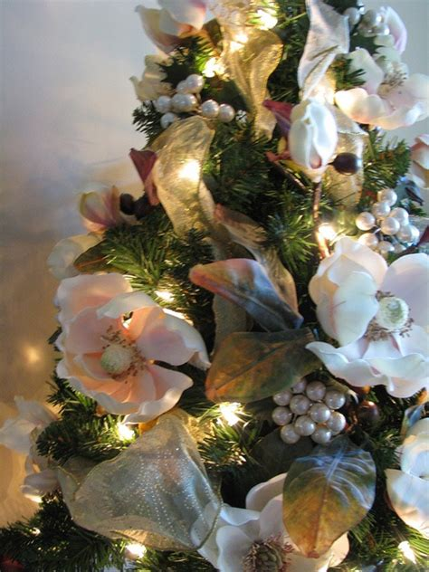 magnolia christmas tree for the home pinterest