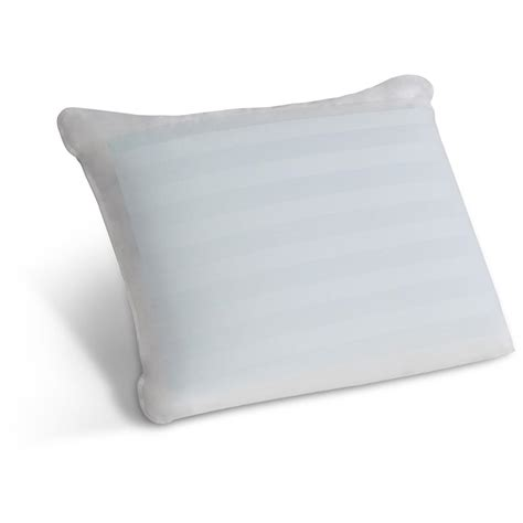 comfort revolution memory foam pillow comfort revolution 174 hydraluxe gel memory foam and