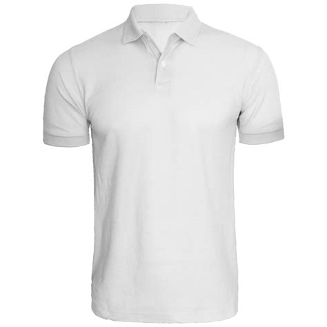Tshirt Golf new mens plain polo shirt sleeve top golf t shirt