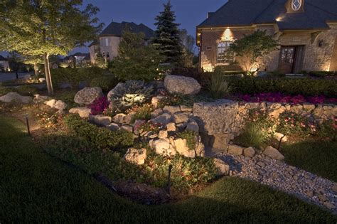 Landscape Accent Lighting Landscape Accent Lighting Images Home And Lighting Design