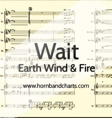 earth wind and fire horn section horn chart pdf horn band charts