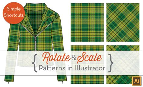scale pattern in illustrator rotate scale repeating patterns inside of objects in