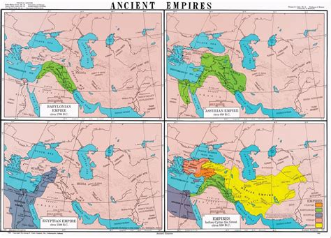 map of ancient empire ancient empires world history map